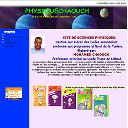 physiquechaouch