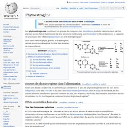 Phytoestrogène