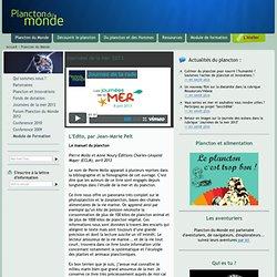 Plancton du Monde : zooplancton et phytoplancton biologie ecologie