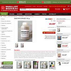 Phytosanitaire ENDO MYCORHIZE 100 gr : LA BOUTIQUE DE MAILLOT BONSAI