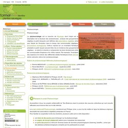 Phytosociologie