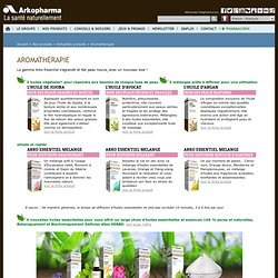 Actualités produits de phytothérapie - Aromathérapie avec le Laboratoire pharmaceutique Arkopharma