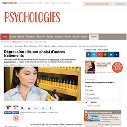 Autres traitements de la dépression : phytothérapie, psychothérapie, acupuncture