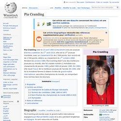 Pia Cramling