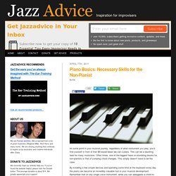 How to Play Jazz Piano, Jazz Chord Changes, Chord Voicings
