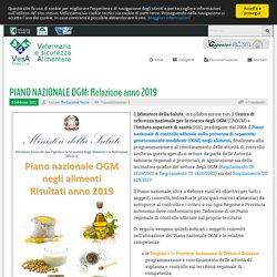 VETERINARIAALIMENTI_MARCHE_IT 03/02/21 TRAD AUTO : PIANO NAZIONALE OGM: Relazione anno 2019