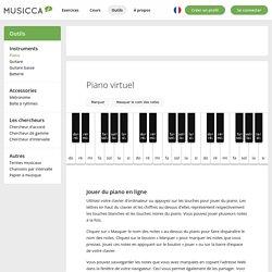 Piano virtuel – Jouer du piano en ligne