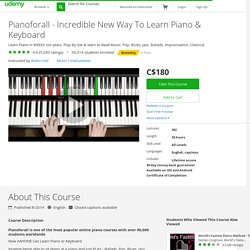 Pianoforall - Incredible New Way To Learn Piano & Keyboard
