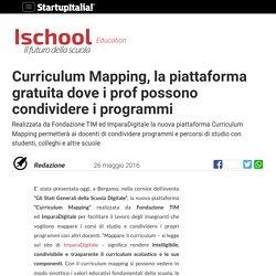 Curriculum Mapping, la piattaforma gratuita dove i prof possono condividere i programmi