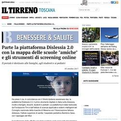 """Parte la piattaforma Dislessia 2.0 con la mappa delle scuole """"amiche"""" e gli strumenti di screening online - Italia Mondo - il Tirreno"""