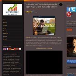 ExamTime. Una piattaforma gratuita per creare mappe, quiz, flashcards, appunti