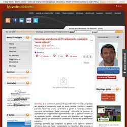 """Schoology: piattaforma per l'insegnamento in versione """"social network"""""""