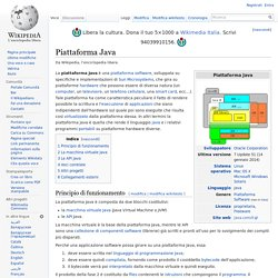Piattaforma Java