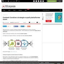 Luca Vanzulli: Content Curation: strategie e quali piattaforme usare