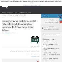 Immagini, video e piattaforme digitali nella didattica della matematica; ispirazioni dall'estero e esperienze italiane – BRICKS