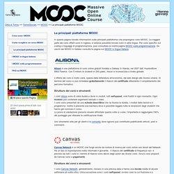 MOOC, le principali piattaforme Massive Open Online Course - Formazione on line - TorinoGiovani
