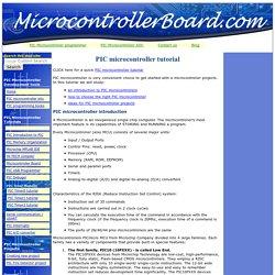 Microcontroller tutorial pdf