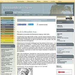 Philosophe & universitaire de la Renaissance
