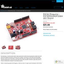 PIC32 Pinguino dev board - $31.46