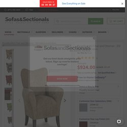 Picadilly A441 Chair and Ottoman - 350 Fabrics