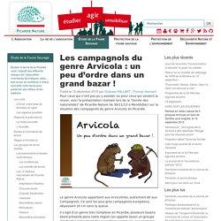 Picardie Nature - Les campagnols du genre Arvicola: un peu d'ordre dans un grand bazar!