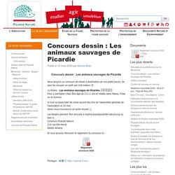 Picardie Nature - Concours dessin: Les animaux sauvages de Picardie