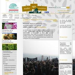 Picardie Nature - Picardie Nature présente à la manifestation de DOUE