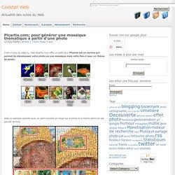 Picartia.com : pour générer une mosaique thématique à partir d'une photo