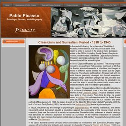 Pablo Picasso's Classicism and Surrealism Period