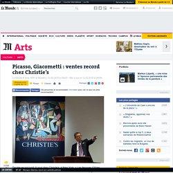 Picasso, Giacometti: ventes record chez Christie's