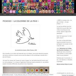 Picasso – La colombe de la Paix –