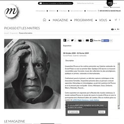 Picasso et les maitres