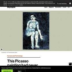 This Picasso painting had never been seen before. Until a neural network painted it.
