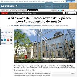 La fille aînée de Picasso donne deux pièces pour la réouverture du musée