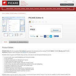 PICAXE-Editor-6 - Software