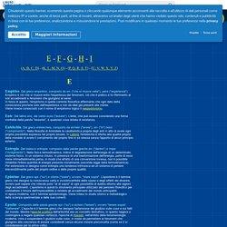 Piccolo Dizionario Filosofico - Lettere E, F, G, H, I