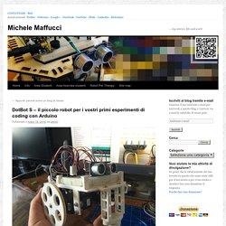 DotBot S – il piccolo robot per i vostri primi esperimenti di coding con Arduino