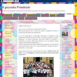 Il piccolo Friedrich: Happy Pi-day to you!