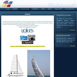 Aviateur Pichavant : un voilier moderne transportable- chantier nautique Bretagne
