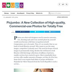 Picjumbo: A New Collection of High-quality, Commercial-use Photos for Totally Free