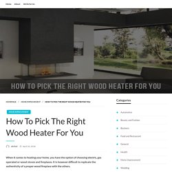 Things Everyone Knows About WOOD HEATERS SYDNEY