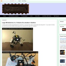 MeanPC - Pickers and eBay Sellers: Lego Mindstorms vs. Arduino for amateur robotics