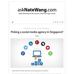 Ask Nate Wang - social media agency