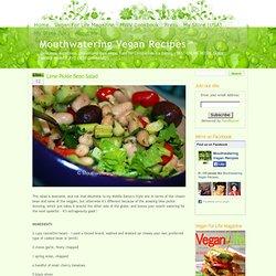 » Lime Pickle Bean Salad