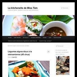 pickles de légumes Archives - La kitchenette de Miss TâmLa kitchenette de Miss Tâm
