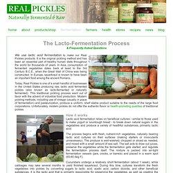The Lacto-Fermentation Process