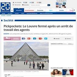 Pickpockets: Le Louvre fermé après un arrêt de travail des agents