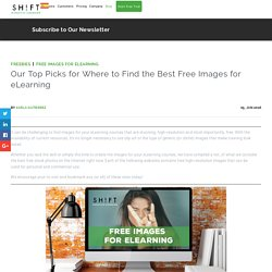 Our Top Picks for Where to Find the Best Free Images for eLearning