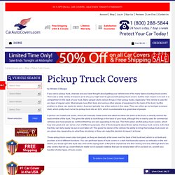 Pickup Truck Covers SUV Heavy Duty Car Cover