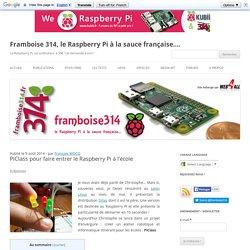PiClass pour faire entrer le Raspberry Pi à l'école